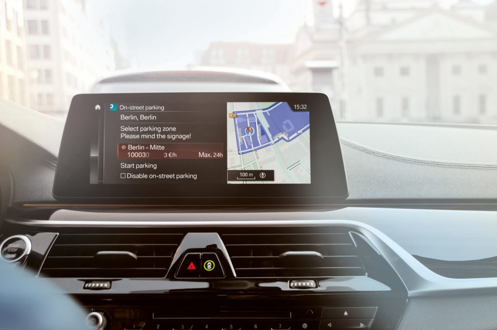 PARK NOW BMW In-car Payments
